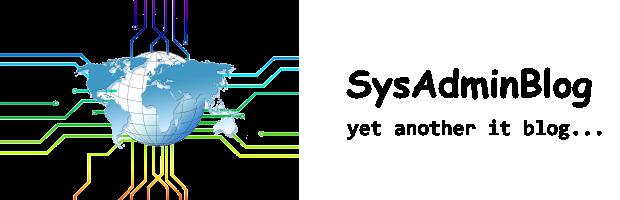 SysAdminBlog